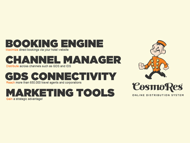 Cosmores Online Booking Engine